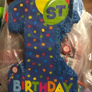 Other - Little boys first birthday decorations